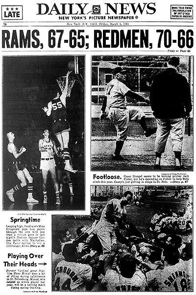 After a group of American Indians complained in 1972, the school ceased calling its teams the Redmen. Teams are now known as the Minutemen, and women's teams as Minutewomen.