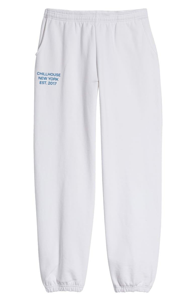 <p>Who could refuse these <span>Chillhouse Everyday Logo Cotton Sweatpants</span> ($60)?</p>
