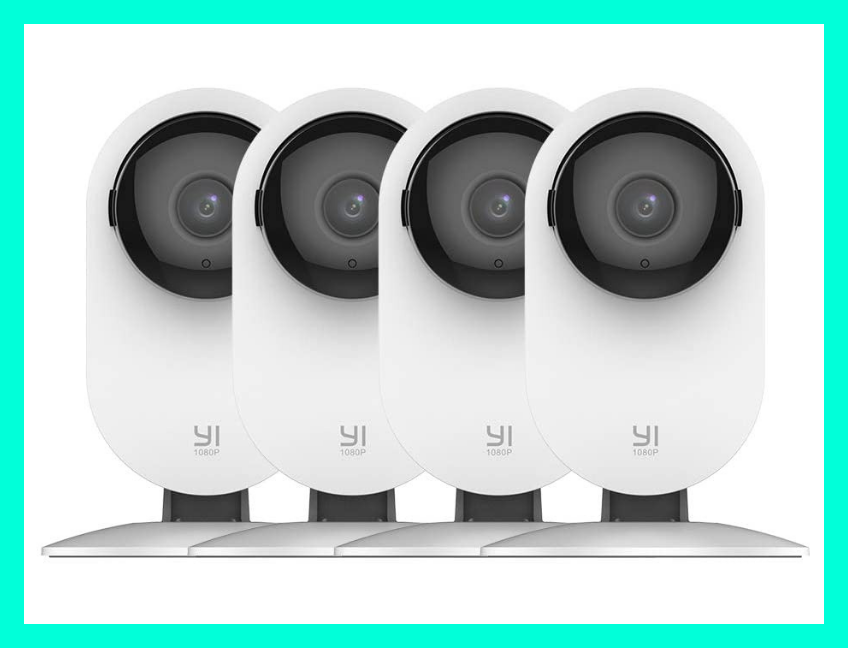 Save $17 on this YI Security Home HD Camera (four-pack). (Photo: Amazon)