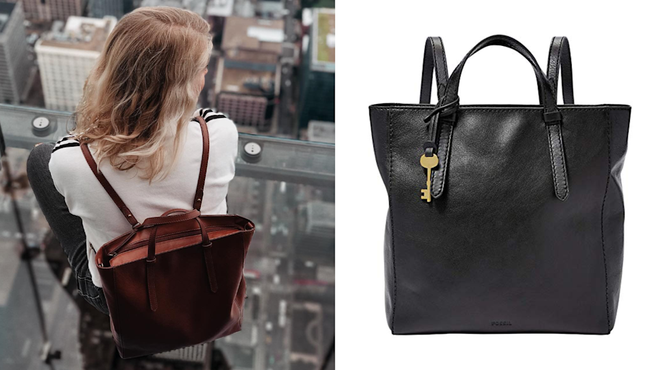 Best gifts for girlfriends: Fossil Backpack
