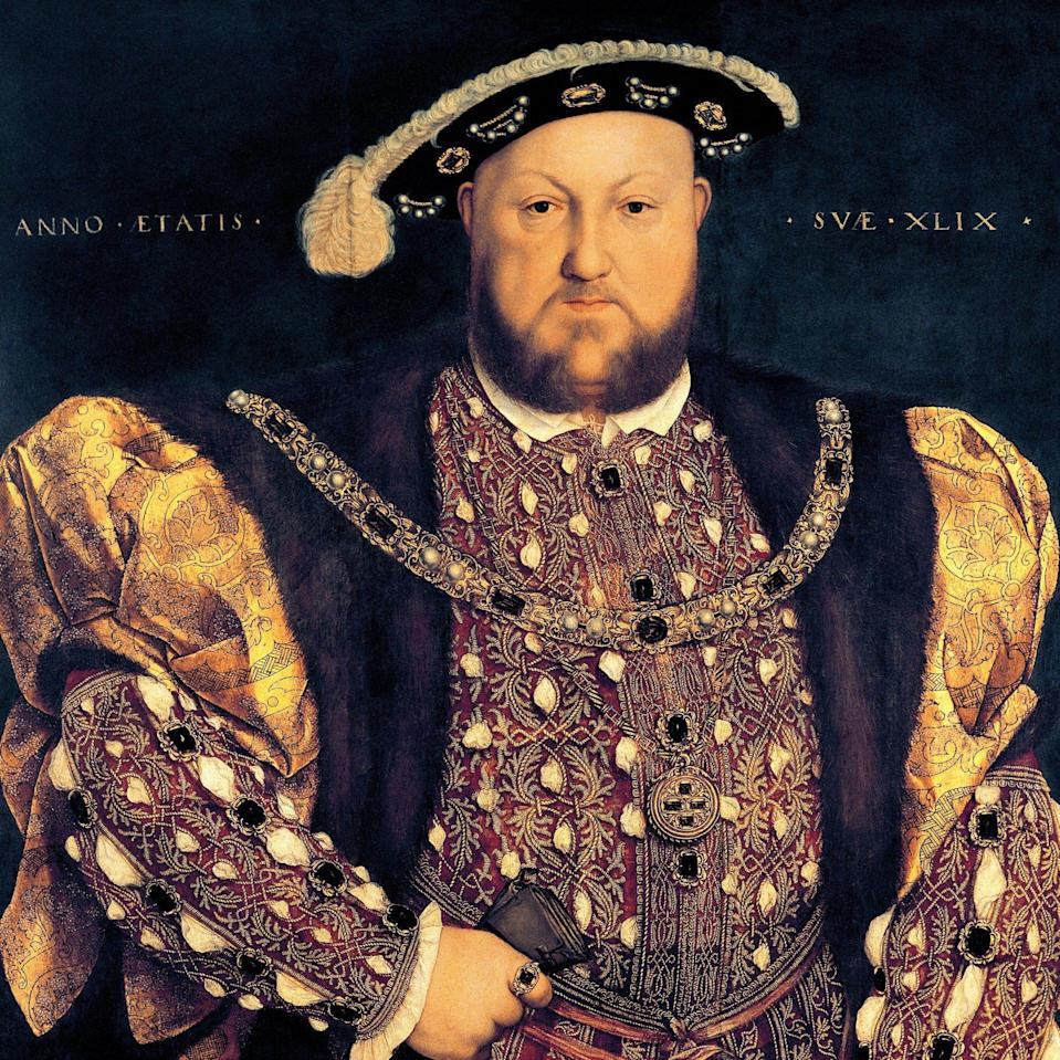 Among Holbein's best-known subjects was Henry VIII, who made him 'King's Painter' - Getty