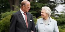 <p>The Queen and her husband celebrated their 60th diamond wedding anniversary at Broadlands in Hampshire.</p>