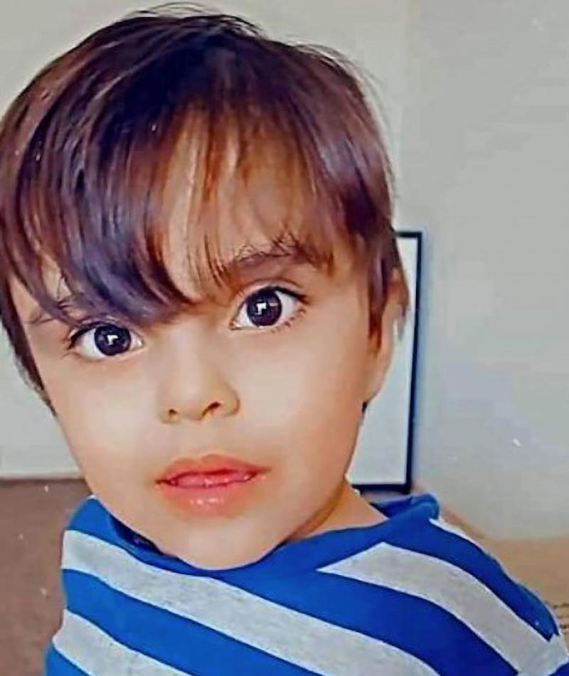 A photo of German boy Adam, 2, went missing on a daycare trip when he was found lifeless in the lake in Magdeburg.