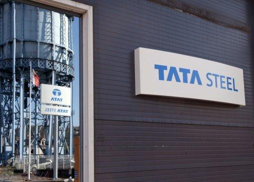 India's Tata Steel, the world's seventh-largest steelmaker, said quarterly net profit plunged 90 percent