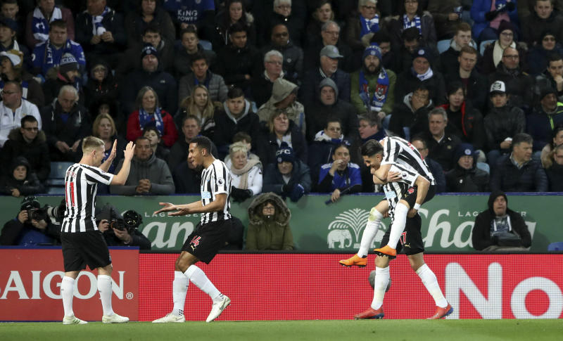 English Premier League: Newcastle move closer to survival with win over Leicester