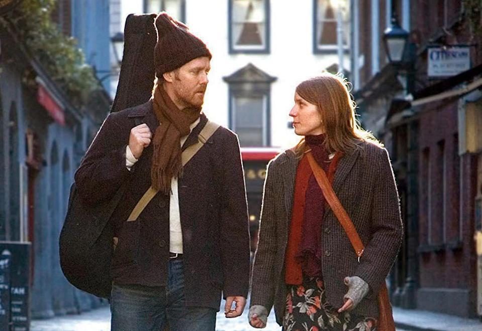 "<p>If you've seen <em>Once </em>already, then you're probably already singing the title song to yourself. A breakout indie hit when it came out in 2007, <em>Once </em>is an aching love story between two musicians in Dublin, played by Glen Hansard and Markéta Irglová. Over the course of a week, they write the music that describes their unusual position, and their undeniable feelings for each other. The movie's success is not a surprise: It's remarkably genuine. </p><p><a class=""link rapid-noclick-resp"" href=""https://www.amazon.com/gp/video/detail/amzn1.dv.gti.4ca9f736-e327-f901-13b1-5b87cde6ef69?autoplay=1&ref_=atv_cf_strg_wb&tag=syn-yahoo-20&ascsubtag=%5Bartid%7C10072.g.35120185%5Bsrc%7Cyahoo-us"" rel=""nofollow noopener"" target=""_blank"" data-ylk=""slk:Watch Now"">Watch Now</a></p>"