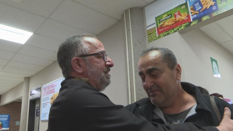 Emotional welcome at Charlottetown Airport as refugee family arrives