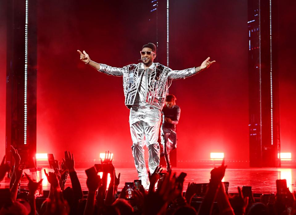 """""""It's all just an honor,"""" Usher told USA TODAY of his Las Vegas residency. """"This is the planned destination for anyone who considers themselves an artist who has made a contribution."""""""