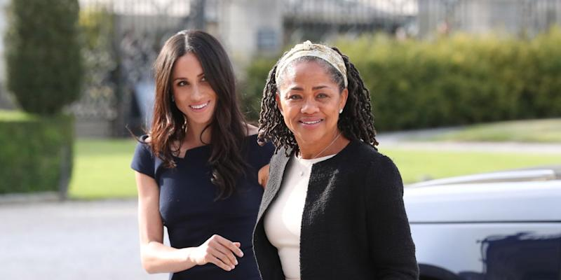 Queen 'asks Meghan Markle mother Doria to Christmas at Sandringham'