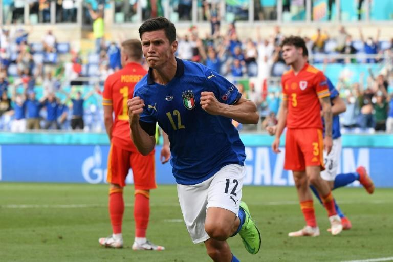 Matteo Pessina scored the only goal against Wales as Italy wrapped up top spot
