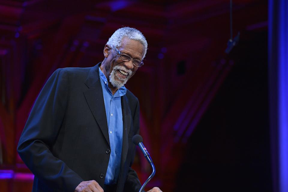 Bill Russell won two championships as a player-coach of the Boston Celitcs. (Paul Marotta/Getty Images)