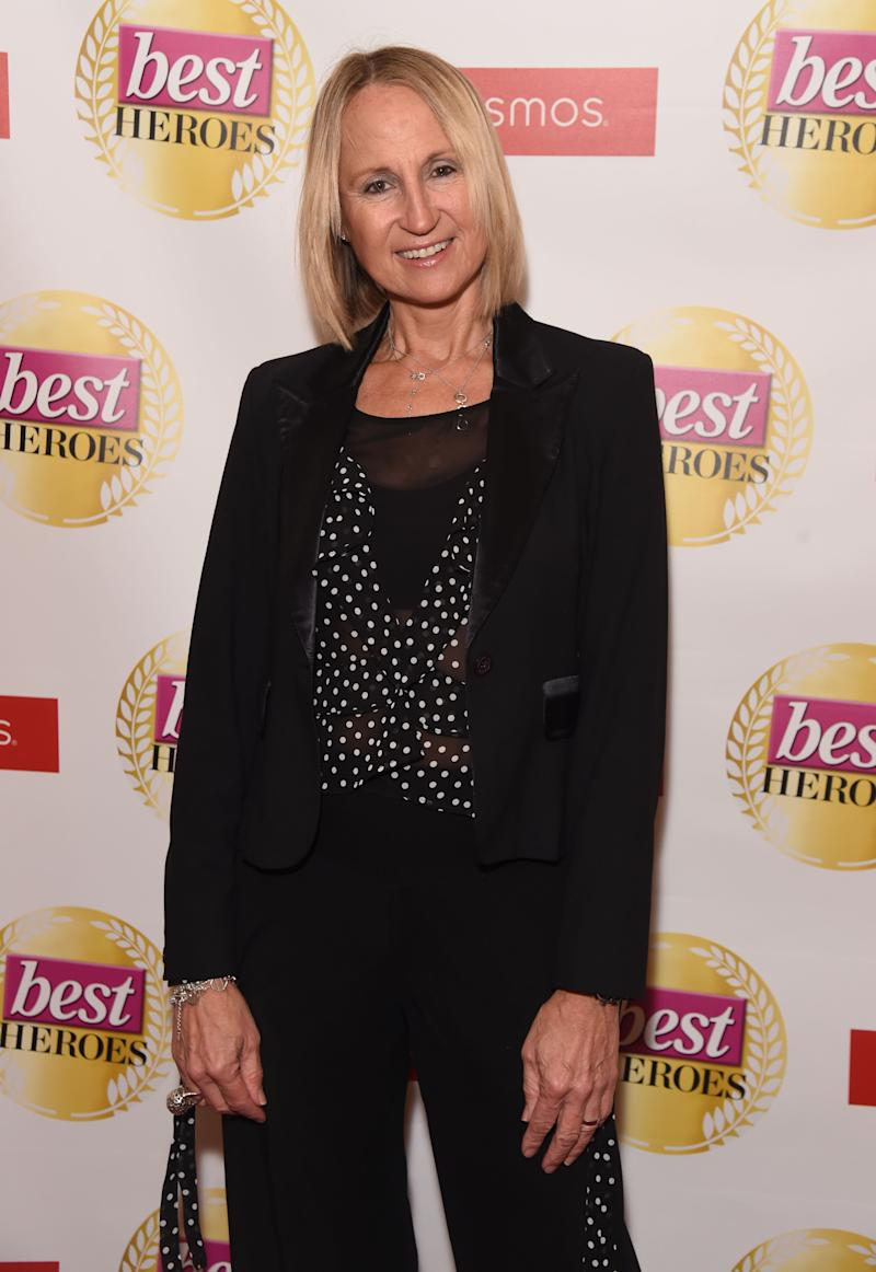 Carol McGiffin attends The Best Heroes Awards 2019 at The Bloomsbury Hotel on October 15, 2019 in London, England. (Photo by David M. Benett/Dave Benett/Getty Images)