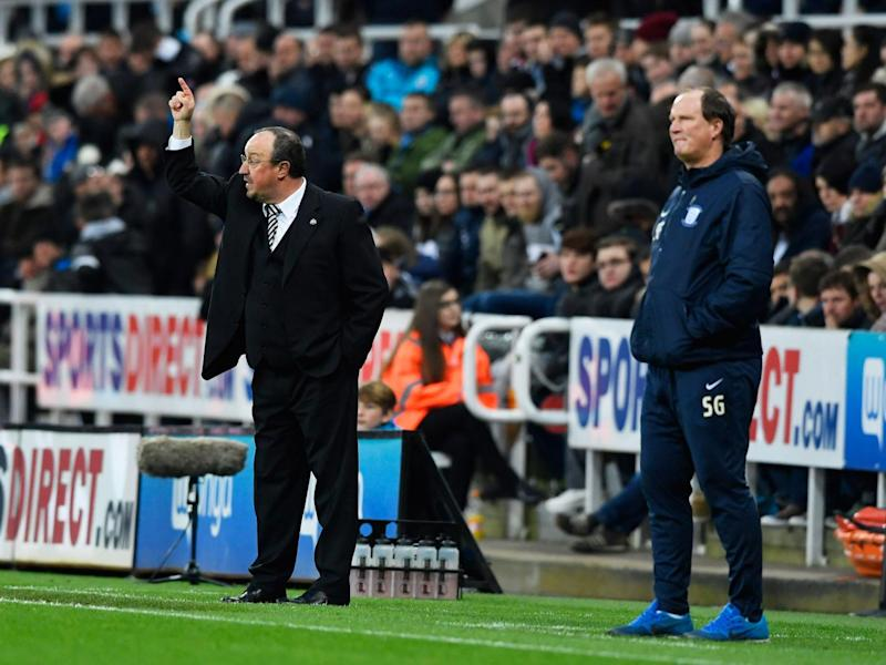 Rafa Benitez has led his side back into the Premier League (Getty)