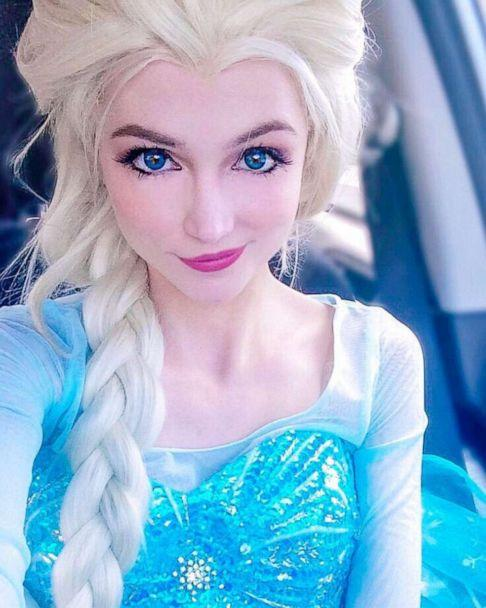 PHOTO: Sarah Ingle first went viral for her uncanny resemblance to Elsa in 2014. (Courtesy Sarah Ingle)
