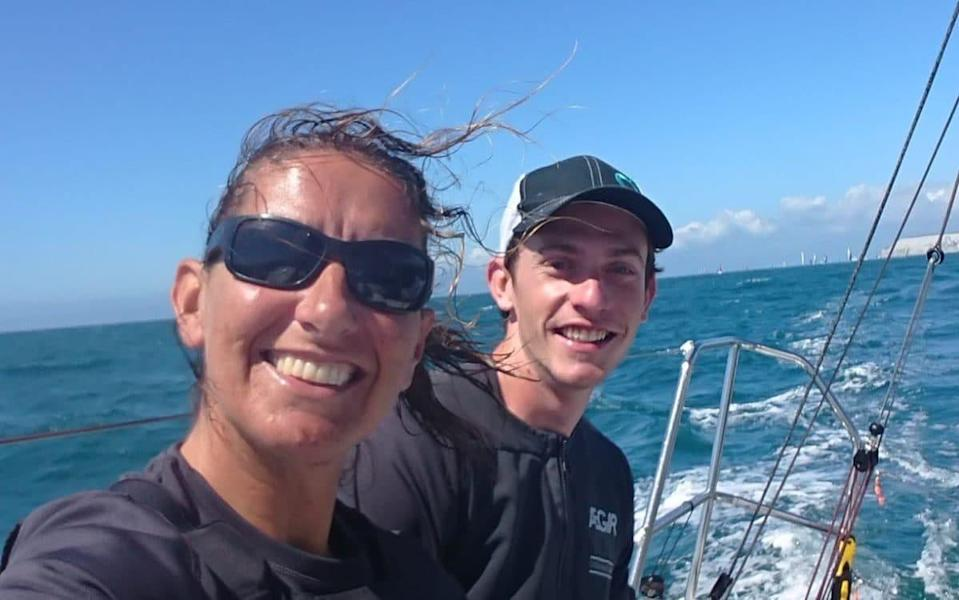 Dee Caffari and James Harayda -Dee Caffari, the only woman to have sailed non-stop around the world three times, has the 2024 Paris Olympics in her sights