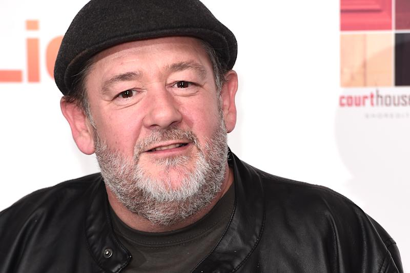 "LONDON, ENGLAND - MARCH 26: Johnny Vegas attends the ""Eaten By Lions"" UK premiere at The Courthouse Hotel on March 26, 2019 in London, England. (Photo by Eamonn M. McCormack/Getty Images)"