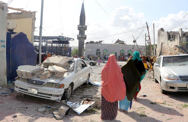 Saturday's bombing in Mogadishu, which killed eight people, was claimed by the Al-Shabaab jihadist group