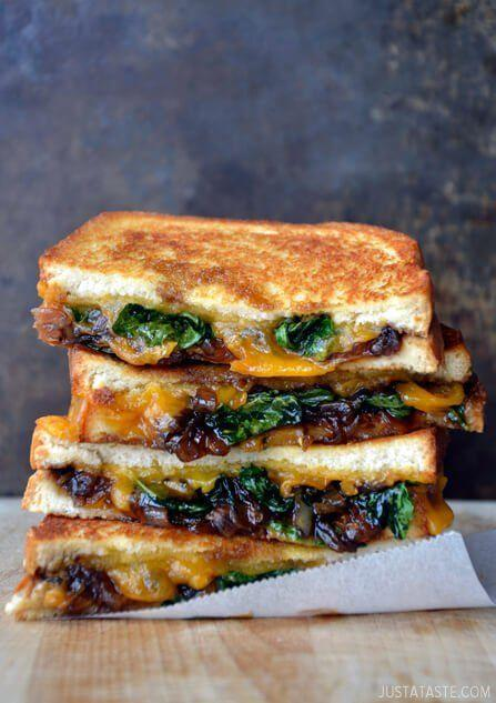 """<p>Just because you grew up doesn't mean your grilled cheese addiction has to cease.</p><p>Get the recipe from <a href=""""http://www.justataste.com/best-grilled-cheese-sandwich-caramelized-balsamic-onions-recipe/"""" rel=""""nofollow noopener"""" target=""""_blank"""" data-ylk=""""slk:Just a Taste"""" class=""""link rapid-noclick-resp"""">Just a Taste</a>.</p>"""
