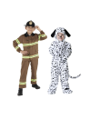 """<p>A firefighter and dalmatian costume is iconic and cute. Who can resist a firehouse pup? </p><p><a class=""""link rapid-noclick-resp"""" href=""""https://www.amazon.com/Dress-Up-America-Fireman-Costume/dp/B07S3GBYPY/?tag=syn-yahoo-20&ascsubtag=%5Bartid%7C10055.g.33417241%5Bsrc%7Cyahoo-us"""" rel=""""nofollow noopener"""" target=""""_blank"""" data-ylk=""""slk:SHOP FIREFIGHTER COSTUME"""">SHOP FIREFIGHTER COSTUME</a></p><p><a class=""""link rapid-noclick-resp"""" href=""""https://www.amazon.com/Little-Toddler-Costume-d%C3%A1lmata-blanco/dp/B00KGIKAE2/?tag=syn-yahoo-20&ascsubtag=%5Bartid%7C10055.g.33417241%5Bsrc%7Cyahoo-us"""" rel=""""nofollow noopener"""" target=""""_blank"""" data-ylk=""""slk:SHOP DALMATIAN COSTUME"""">SHOP DALMATIAN COSTUME</a></p>"""