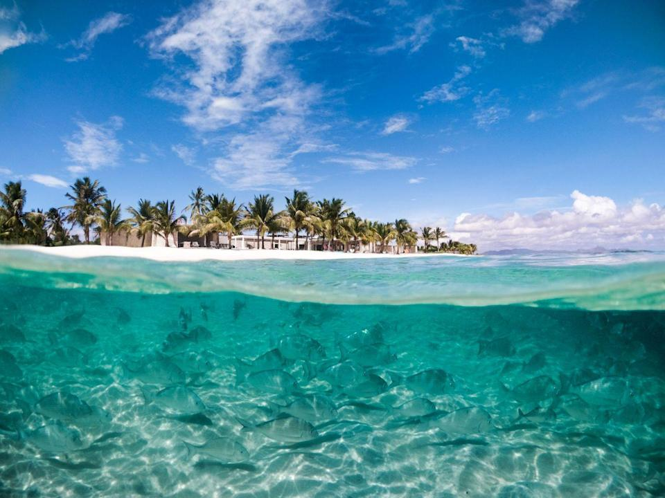 """<p>For ends of the Earth exclusivity, venture to this 2,500-acre <a href=""""http://www.mavrossafaris.com/"""" rel=""""nofollow noopener"""" target=""""_blank"""" data-ylk=""""slk:private island off the Madagascan coast"""" class=""""link rapid-noclick-resp"""">private island off the Madagascan coast</a>. From here, you can heli-surf to previously unchartered waters, dive with humpback whales and paddleboard to deserted coves where turtles lay their eggs. Guides can take you lemur-trekking or orchid-hunting, spotting chameleons along the way; while at the spa, wild vanilla and botanical herbs are foraged to be made into customised lotions.</p>"""