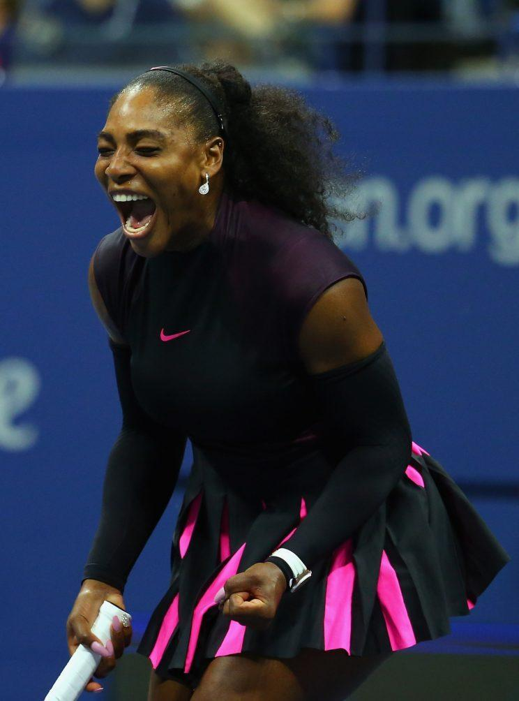 Serena expressed frustration with being compared to her male counterparts and urges women to