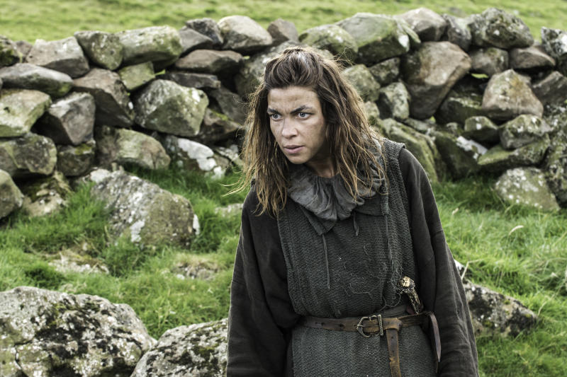 "Natalia Tena as Osha in GAME OF THRONES - Series 3, Episode 7 ""The Bear and the Maiden Fair"" (HBO/Sky Atlantic)"