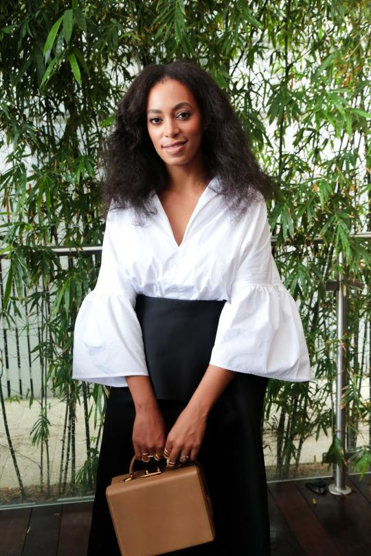 Solange Knowles Co Designed A Trio Of White Shirts To Combat Slavery
