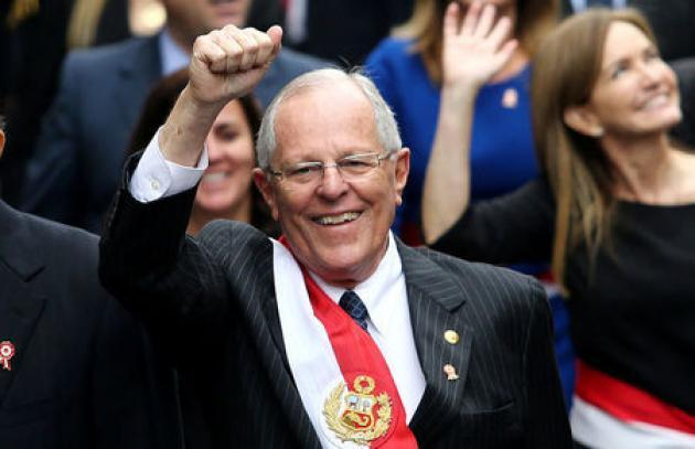 Peru leader renews vow to boost economy after year of setbacks