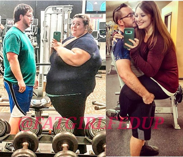 Lexi and husband Danny have completely transformed. Photo: Instagram