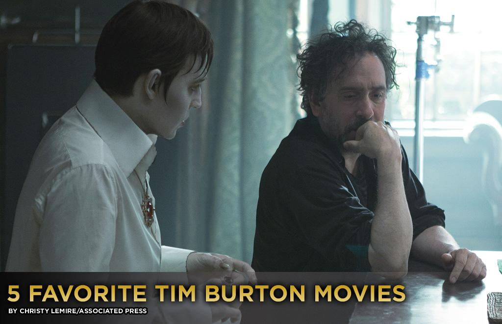 "There was a time when Tim Burton was considered an exciting filmmaker, when his aesthetic seemed daring, inventive and unmistakably his own. But that seems like a while ago after seeing ""Dark Shadows,"" his eighth collaboration with Johnny Depp and their weakest yet. <br><br>Still, as you know, we like to be glass-half-full around here. So while ""Dark Shadows"" feels like a visual and thematic recycling of Burton's previous work, it does give us the chance to look back on the director's five best films. Cue the Danny Elfman score:"