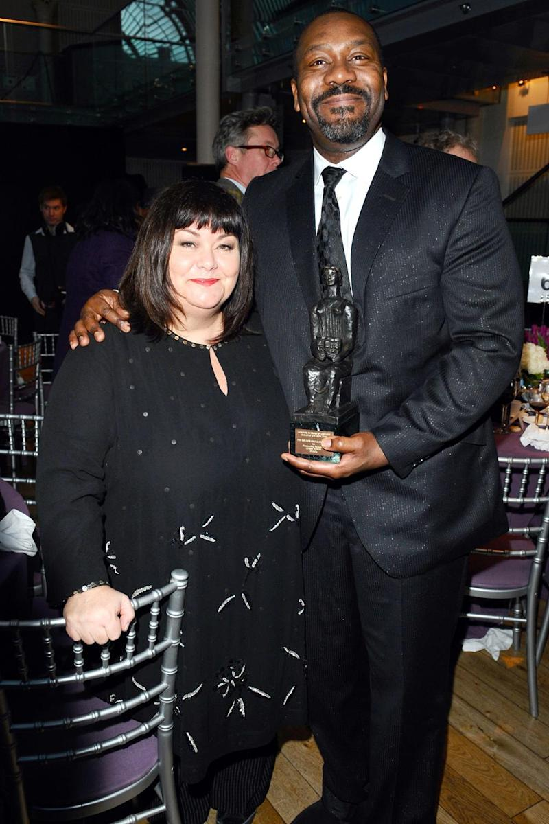 Weight loss: Lenny Henry pictured in 2009 with his then wife Dawn French (Ian West/PA)
