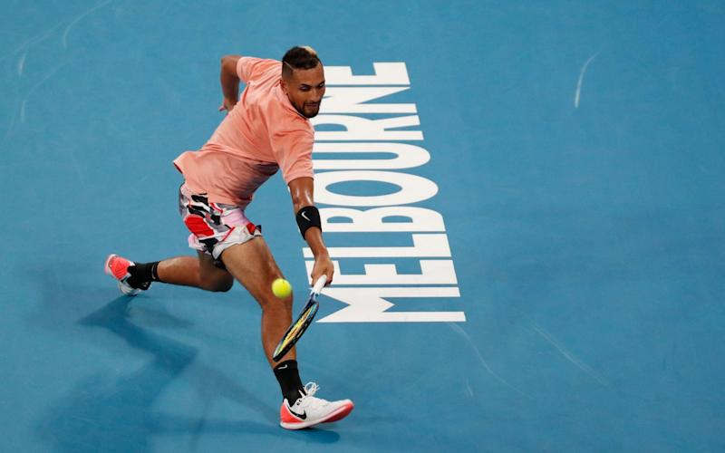 Nick Kyrgios is looking to improve on his best Australian Open performance when he reached the quarter-finals in 2015 - REUTERS