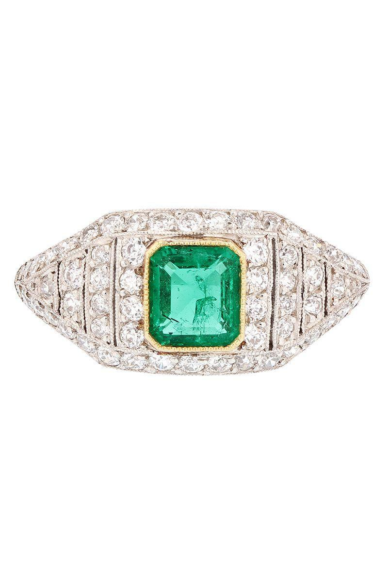 "<p><em><strong>Grace Lee </strong>Emerald Cabochon ring, circa the 1960s, price upon request, <a href=""https://gracelee.com/"" rel=""nofollow noopener"" target=""_blank"" data-ylk=""slk:gracelee.com"" class=""link rapid-noclick-resp"">gracelee.com</a></em></p><p><a class=""link rapid-noclick-resp"" href=""https://gracelee.com/"" rel=""nofollow noopener"" target=""_blank"" data-ylk=""slk:SHOP"">SHOP</a></p>"