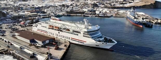 The Madeleine II has a small pool, but it will be covered up and used as a seating area, says the ship's captain. (CTMA - image credit)