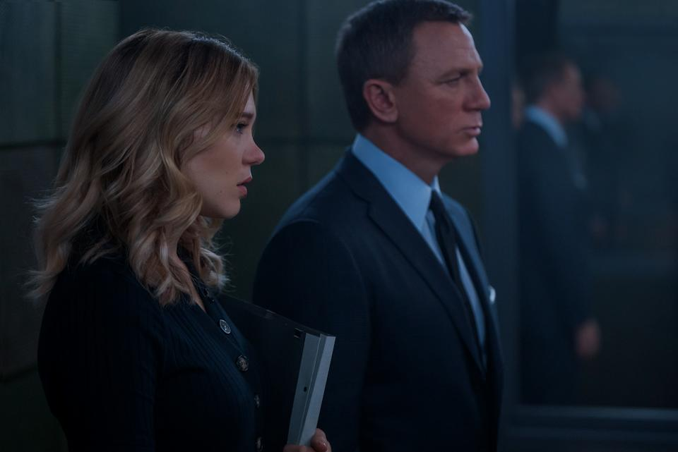 Lea Seydoux and Daniel Craig in No Time To Die. (Photo: United International Pictures)