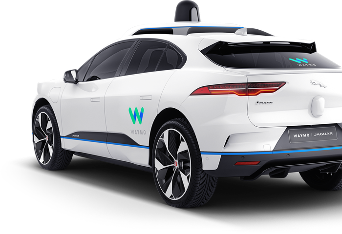 A Waymo self-driving vehicle