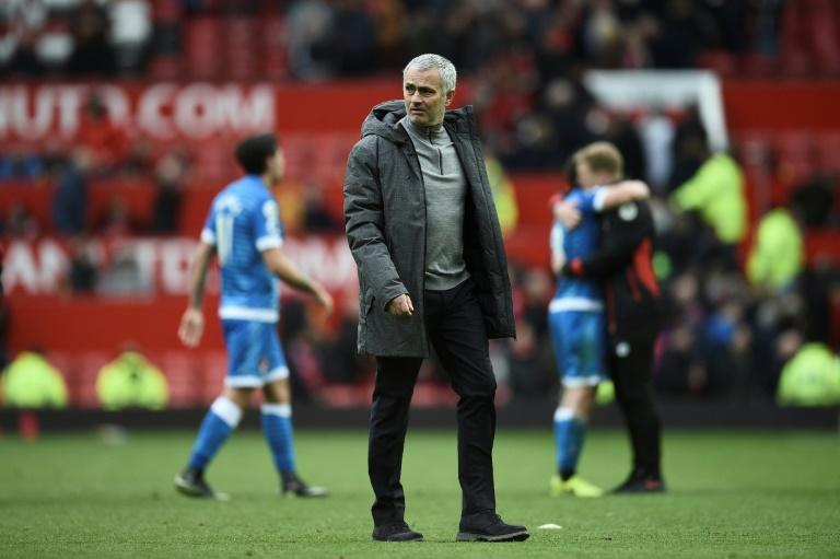 Manchester United manager Jose Mourinho aims to erase the memory of one of his most painful defeats by ending Chelsea's double challenge