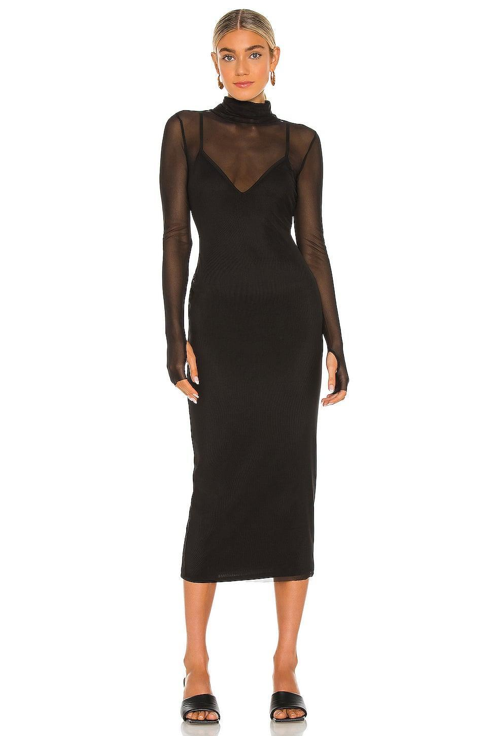 <p>This sheer <span>AFRM Shailene Dress</span> ($88) may err on the fancy side, but it's extremely wearable.</p>