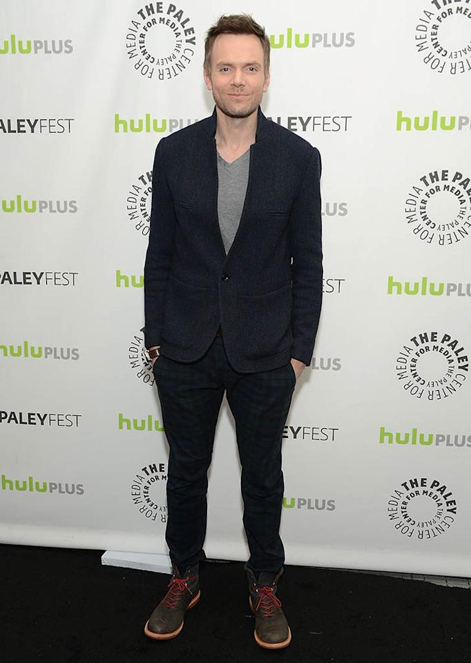 "Joel McHale attends the 30th annual PaleyFest featuring the cast of ""Community"" at the Saban Theatre on March 5, 2013 in Beverly Hills, California."