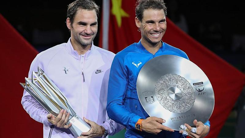 The great rivals' incredible 2017 continued in Shanghai. Pic: Getty