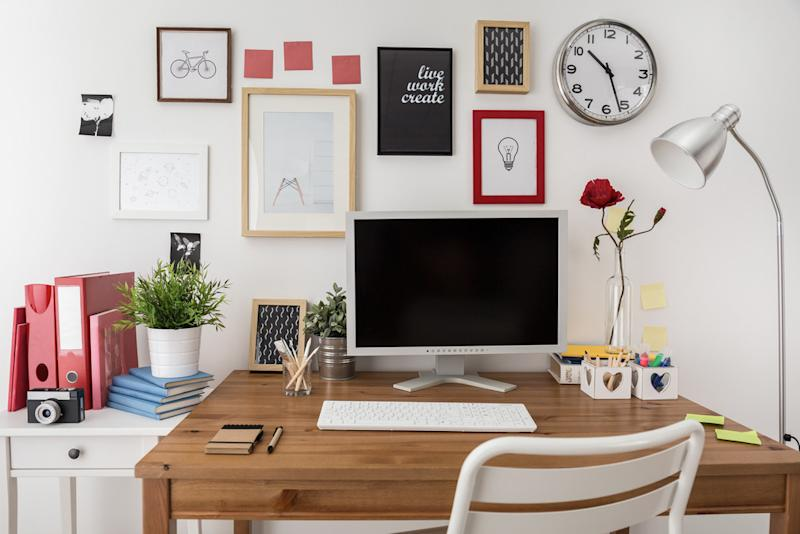 9 tips for setting up a home office. Black Bedroom Furniture Sets. Home Design Ideas