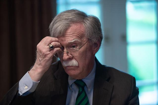 """Bolton, who has angered North Korea, said in March that a revamped trade policy with China """"could be a little shock therapy."""""""