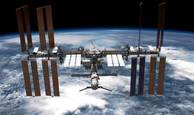 International Space Station 'might need air delivery' due to leak