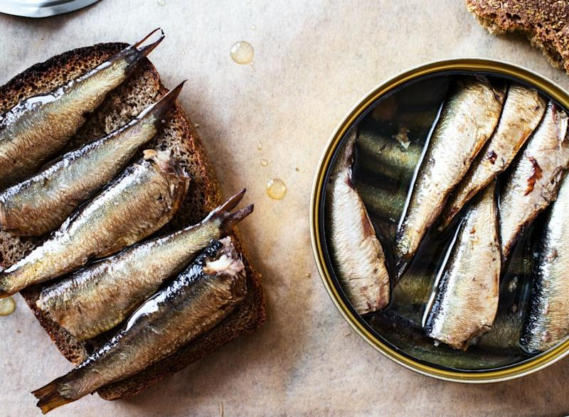 Fish ranked Canned Sardines in oil