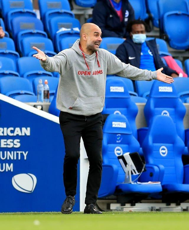 Manchester City manager Pep Guardiola was left with plenty to ponder following a remarkable game on the south coast