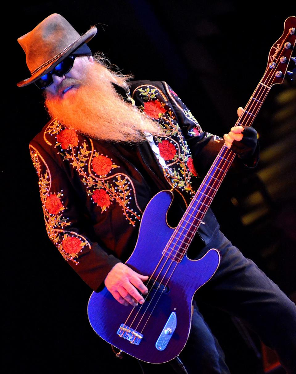Dusty Hill, the bass player for ZZ Top for more than 50 years, died at age 72.