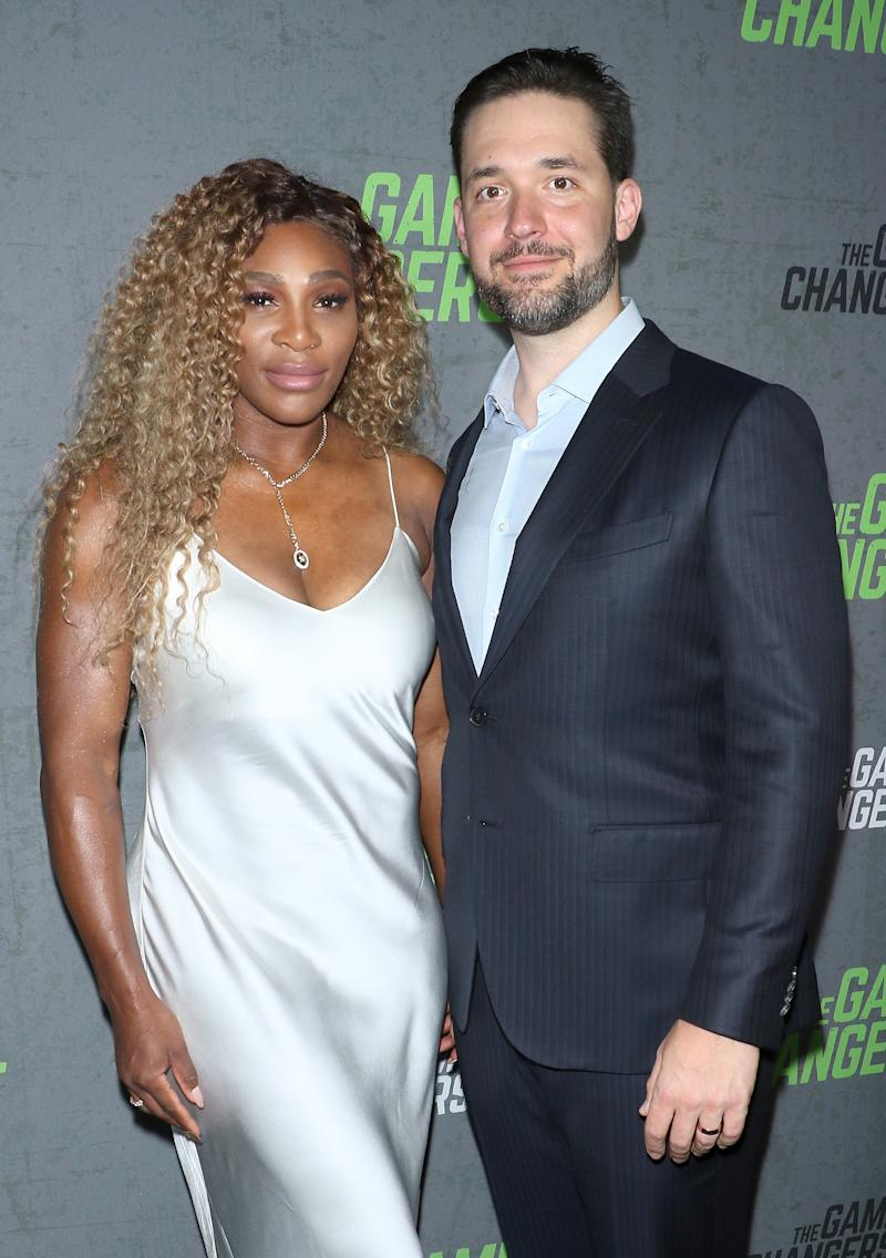 Reddit co-founder Alexis Ohanian is married to tennis champion Serena Williams. Credit: Getty.