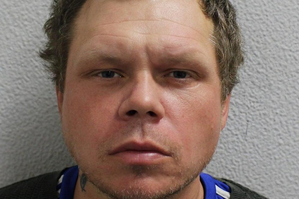 Alan Keeble punched the police officer repeatedly in an attack in Bromley where the officer thought he was going to die  (Metropolitan Police)