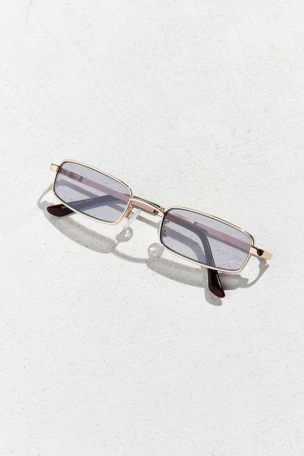 "<p>Metal rectangle sunglasses, $18, <a href=""https://www.urbanoutfitters.com/shop/metal-rectangle-sunglasses?category=SEARCHRESULTS&cm_mmc=CJ-_-Affiliates-_-Clique%20Media%2C%20Inc.%20%20%7C%20Who%20What%20Wear-_-11554356&color=070&quantity=1&size=ONE%20SIZE&type=REGULAR&utm_campaign=Affiliates&utm_content=static&utm_medium=affiliates&utm_source=CJ&utm_term=Clique%20Media%2C%20Inc.%20%20%7C%20Who%20What%20Wear"" rel=""nofollow noopener"" target=""_blank"" data-ylk=""slk:urbanoutfitters.com"" class=""link rapid-noclick-resp"">urbanoutfitters.com</a> </p>"
