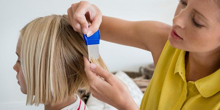 You can get rid of lice with combs, shampoos, creams, or medication.